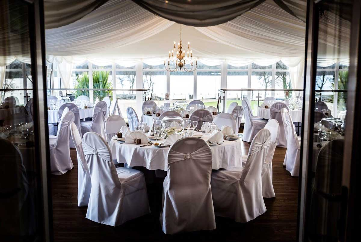 Marquee Wedding overlooking Lough Erne at Rossharbour