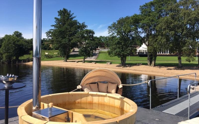 Luxury Floating Finnish Hot Tub