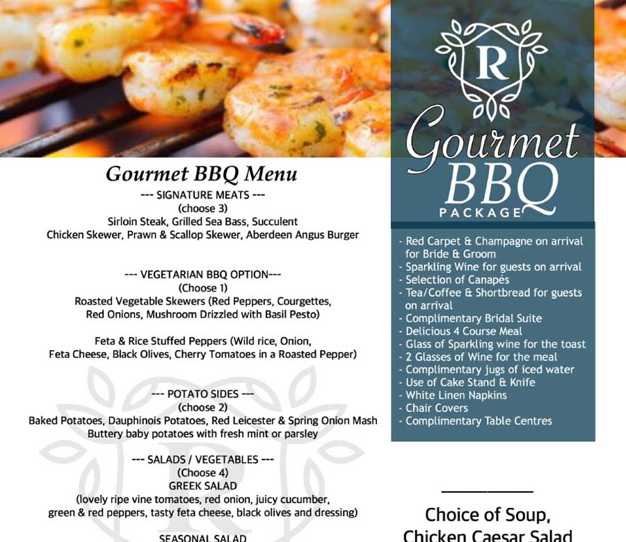 Gourmet BBQ Package