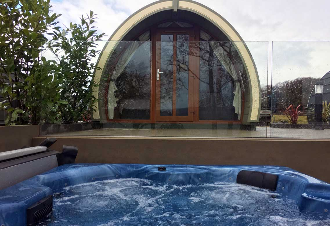 Luxury Lakeside Lodges Rossharbour | Glamping Northern Ireland