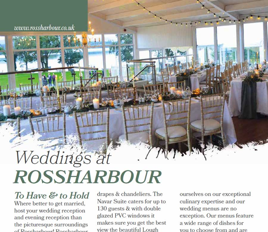 Rossharbour Wedding Brochure